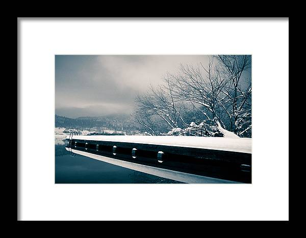 Winter Framed Print featuring the photograph Winter Idyl by Luka Matijevec