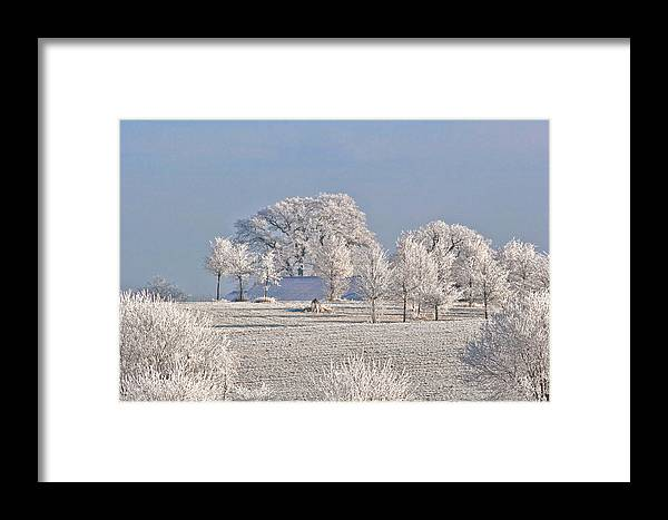 Canada Framed Print featuring the photograph Winter In Canada by Christine Till
