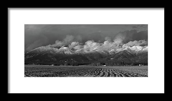 Winter Framed Print featuring the photograph Winter In The Flathead by Whispering Peaks Photography