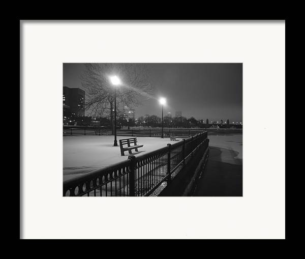 Winter Framed Print featuring the photograph Winter In The Park by Eric Workman