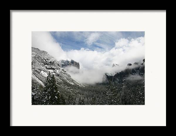 Landscape Framed Print featuring the photograph Winter Inspiration by Travis Day