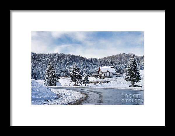 Winter Framed Print featuring the photograph Winter Lands by Gabriela Insuratelu