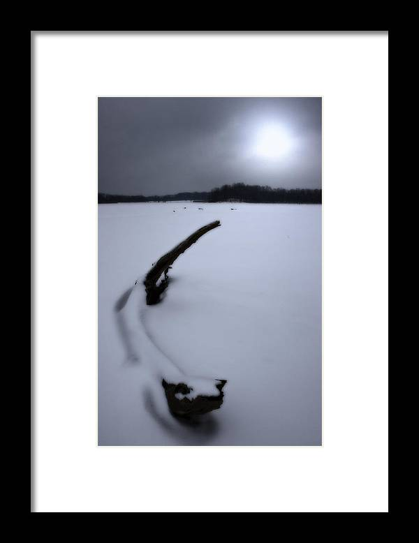Winter Framed Print featuring the photograph Winter Moonrise by Kenneth Krolikowski