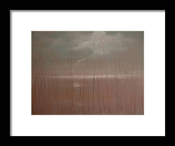 Dusk Framed Print featuring the painting Winter Of Hope by Jack Diamond
