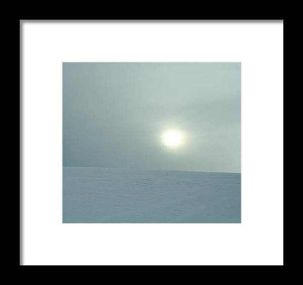 Sun Framed Print featuring the photograph Winter Sun II by Magda Levin-Gutierrez