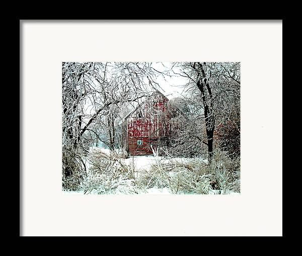 Christmas Framed Print featuring the photograph Winter Wonderland by Julie Hamilton