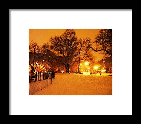 Winter Framed Print featuring the photograph Winter's Solace by Kendall Eutemey