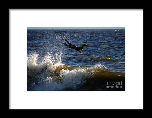 Clay Framed Print featuring the photograph Wipe Out by Clayton Bruster