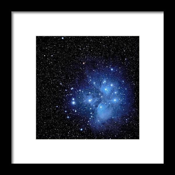 Merope Framed Print featuring the photograph Wisps Of Merope by Jim DeLillo