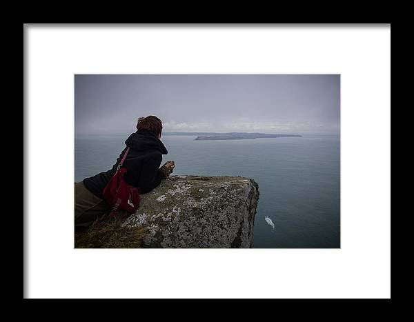 Sea Framed Print featuring the photograph Wistful For The Island by Alex Leonard