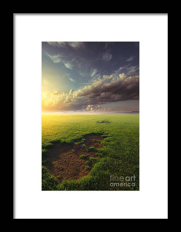 Joy Framed Print featuring the photograph With Joy Fulfilled by John Noe