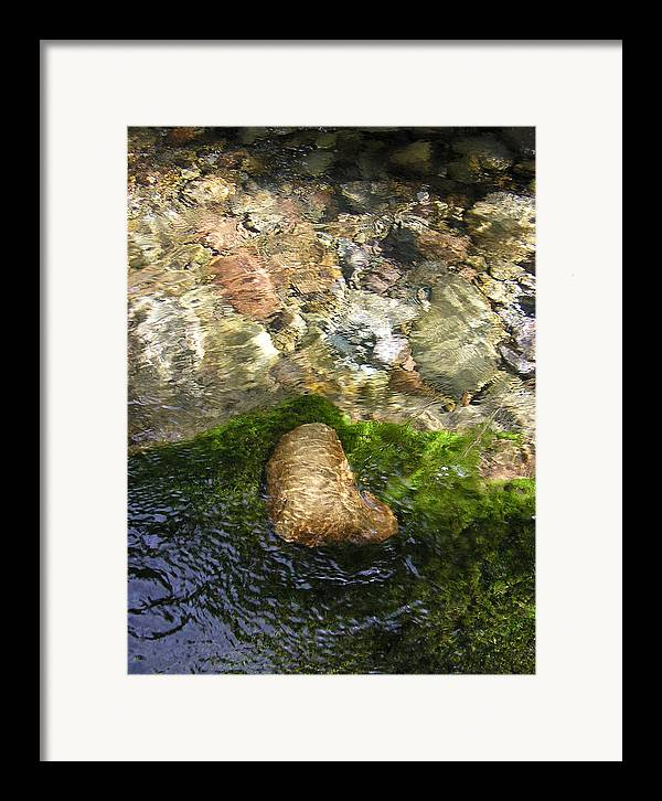 Earth Hour Framed Print featuring the photograph With Love From Mother by Christina Gardner