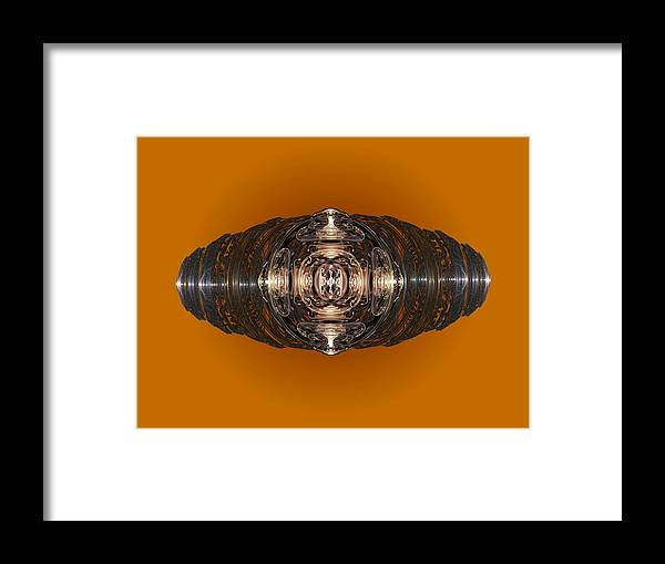 Ring Framed Print featuring the digital art With This Ring by Ricky Kendall