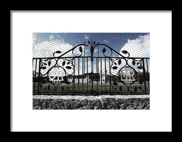 Castle Framed Print featuring the photograph Within Or Without by HweeYen Ong