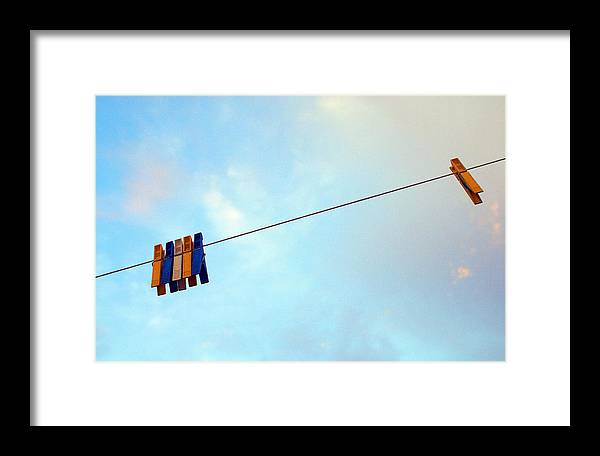 The Sky Framed Print featuring the photograph Without Sense... by Vadim Grabbe