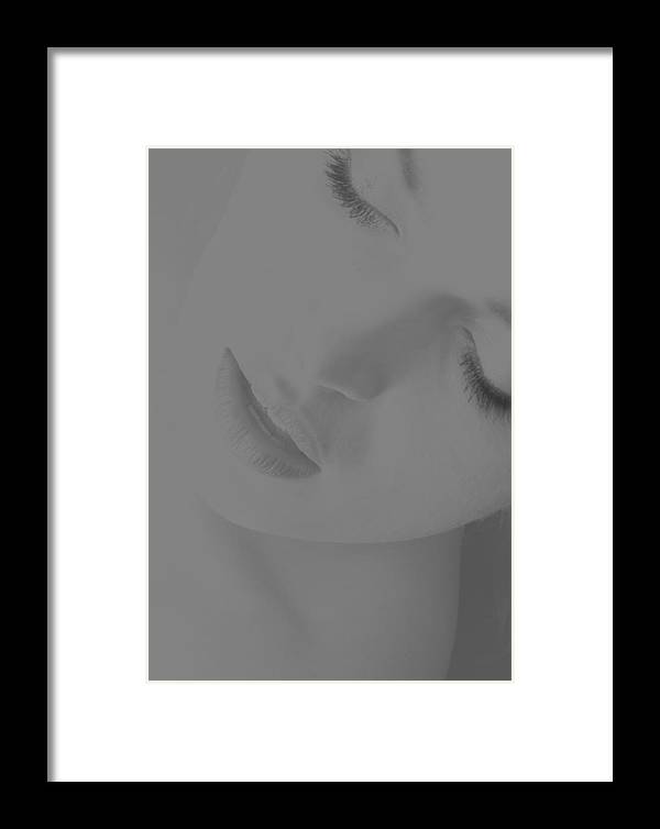 Photography Framed Print featuring the photograph Women Body - Desire by Robert Litewka