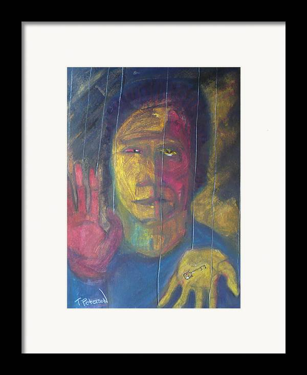 Portrait Framed Print featuring the painting Wont Get Fooled Again by Todd Peterson