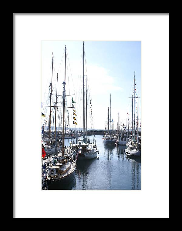 Boat Festival Framed Print featuring the photograph Wooden Boats by Sonja Anderson