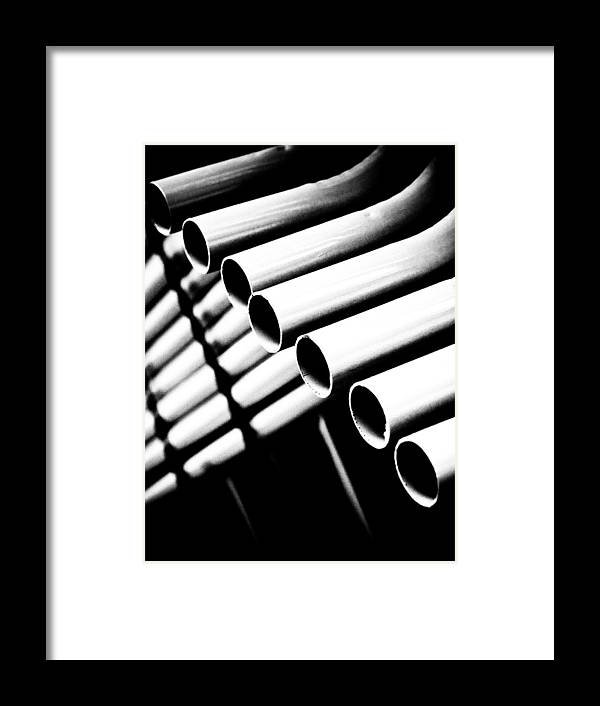 Works Framed Print featuring the photograph Works by Felix M Cobos