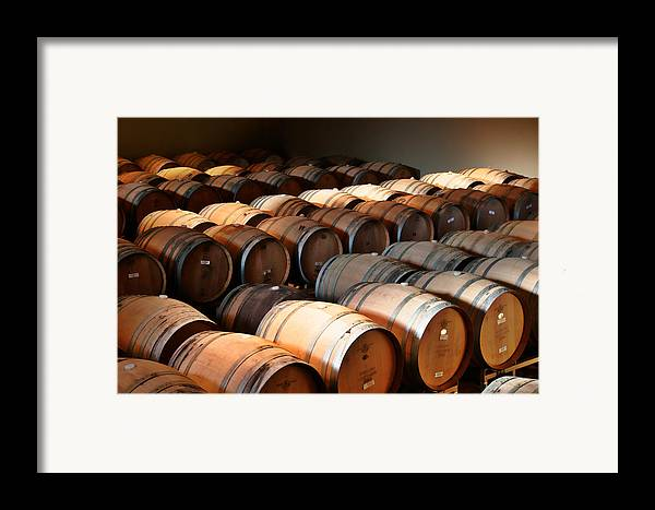 Wine Framed Print featuring the photograph World-class Wine Is Made In California by Christine Till