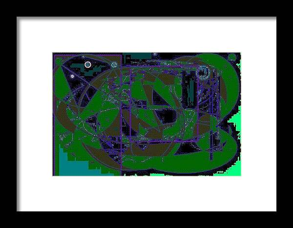Frog Framed Print featuring the painting World Of The Frog by Roman Krimker