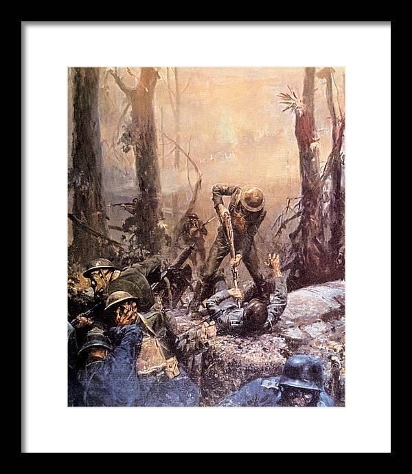 Belleau Wood Framed Art Prints Fine Art America