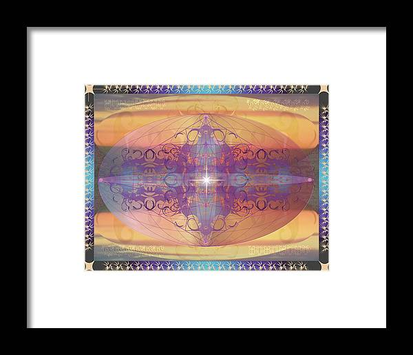 Fantasy Framed Print featuring the digital art Worldscape 3 by George Pasini