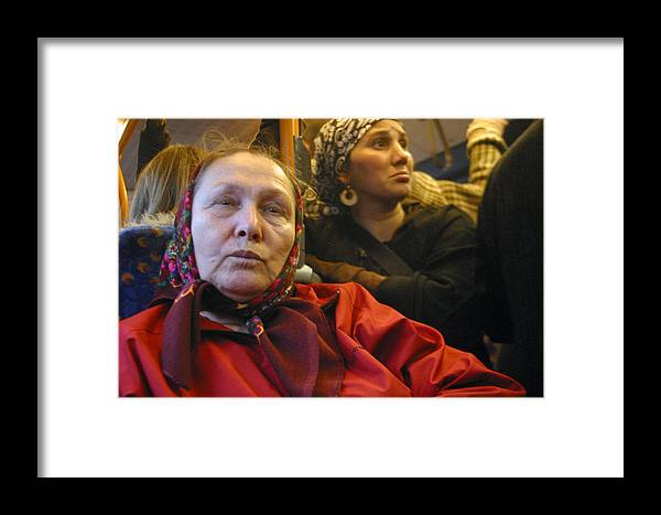 Jez C Self Framed Print featuring the photograph Worried 2 by Jez C Self