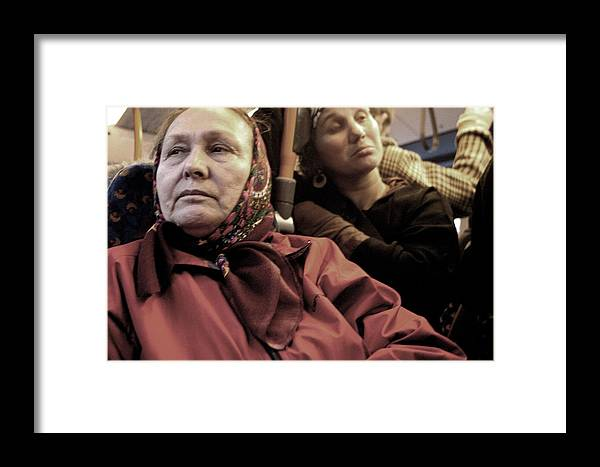 Jez C Self Framed Print featuring the photograph Worried And Tired by Jez C Self