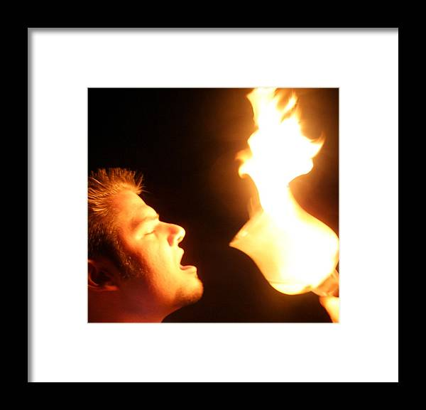 Fire Framed Print featuring the photograph Worship by Cassandra Wessels