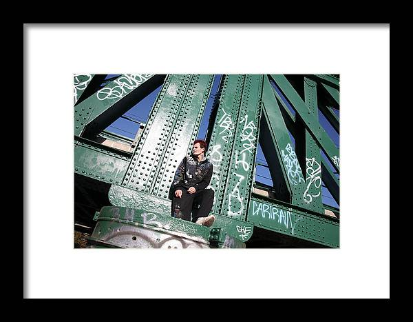 Photographer Framed Print featuring the photograph Wrong Thoughts by Jez C Self