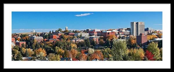 WSU Autumn Panorama by David Patterson