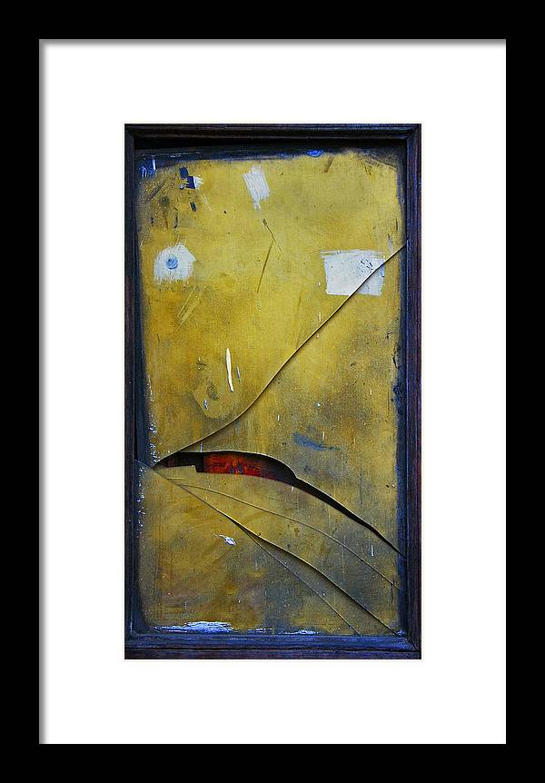 Abstract Framed Print featuring the photograph Xalapa Miro by Skip Hunt
