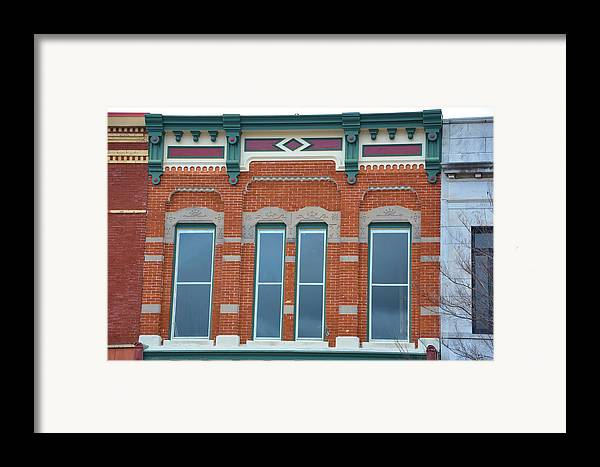 Architectural Framed Print featuring the photograph Xoxo by Jan Amiss Photography