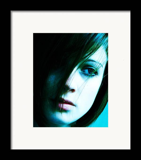 Fashion Framed Print featuring the photograph XP by Jim DeLillo