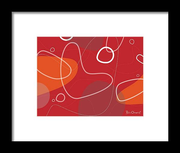 Retro Framed Print featuring the print Yamaguchi by Bill ONeil
