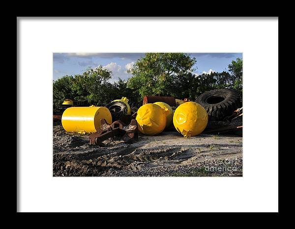 Yellow Framed Print featuring the photograph Yellow by David Lee Thompson