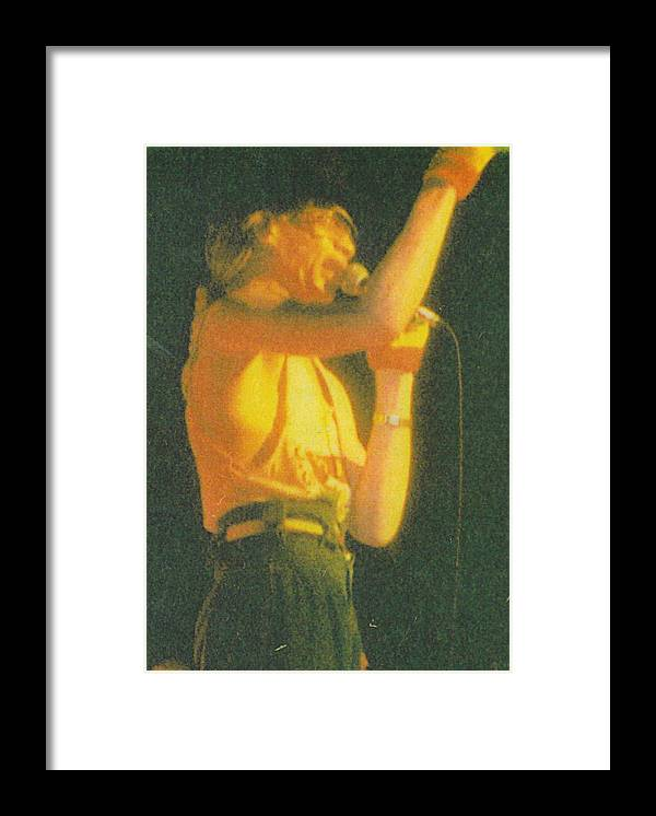 Reggae Artist Framed Print featuring the photograph Yellowman by Mia Alexander