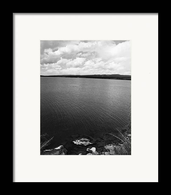 Lake Framed Print featuring the photograph Yellowstone Lake by Jessica Wakefield