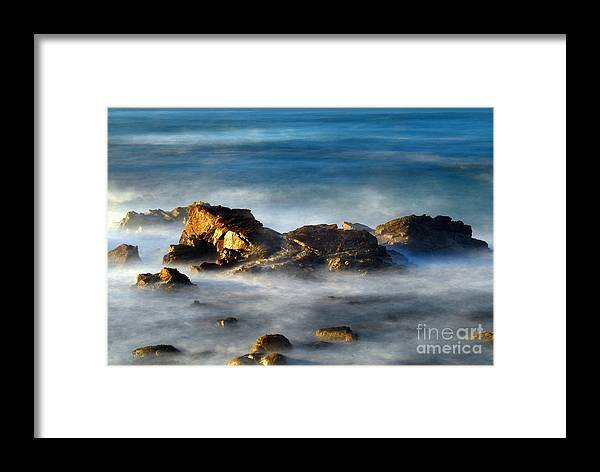 Rocks Framed Print featuring the photograph Yin And Yan by Catherine Lau