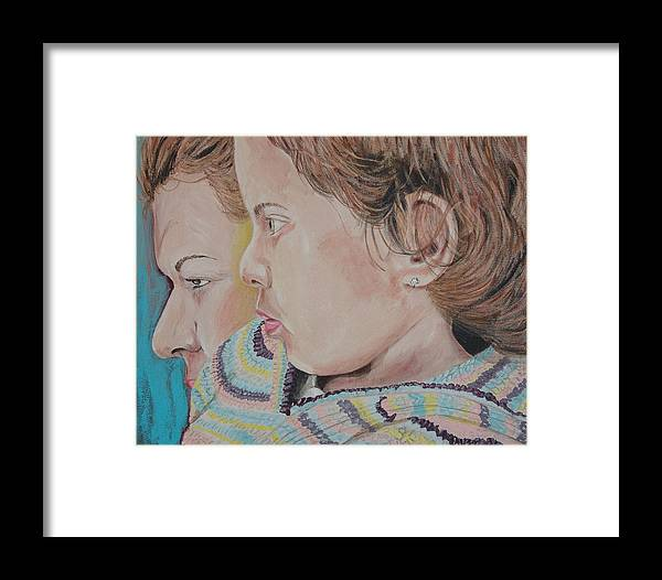 Kevin Callahan Framed Print featuring the painting Yo De Nuevo by Kevin Callahan