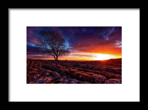 Yorkshire Framed Print featuring the photograph Yorkshire Beauty by Unsplash