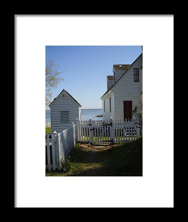 Yorktown Framed Print featuring the photograph Yorktown by Flavia Westerwelle