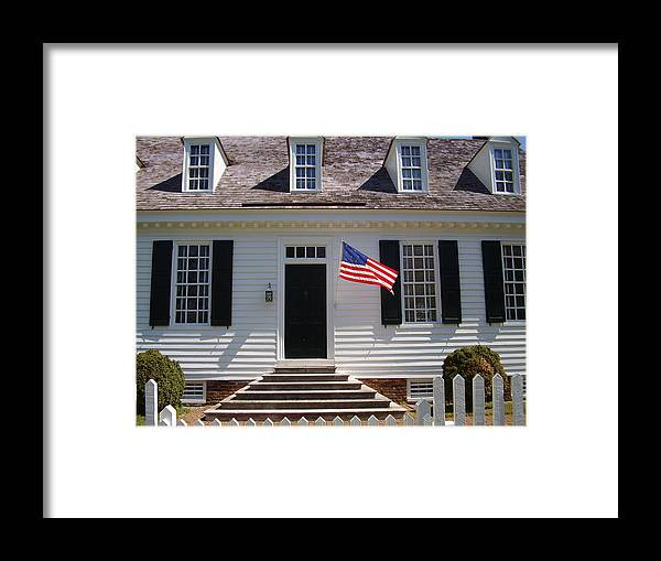 Yorktown Framed Print featuring the photograph Yorktown II by Flavia Westerwelle