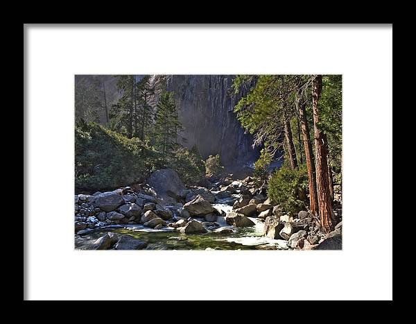 Yosemite Framed Print featuring the photograph Yosemite by Paul Owen