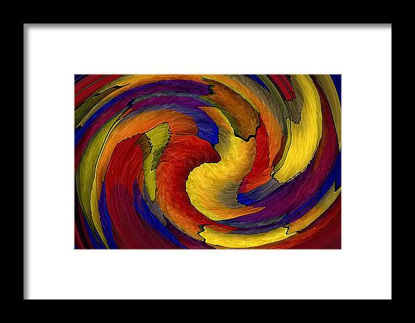 Big Framed Print featuring the digital art You Ain't Seen Nothin Yet by Terry Mulligan