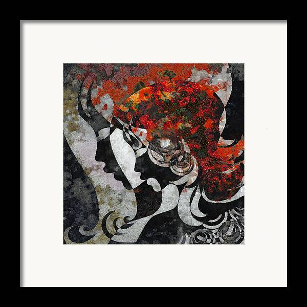 Wonder Framed Print featuring the digital art You Are The Only One 3 by Angelina Vick