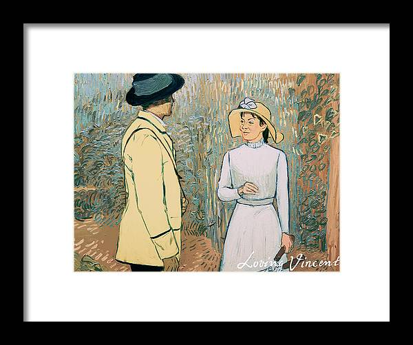 Framed Print featuring the painting You Don't Want to Stay There by Olga Krolak