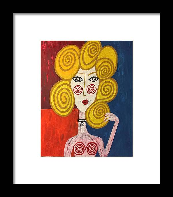 Matisse Framed Print featuring the painting You Give Me Great Joy by Brett Pedersen