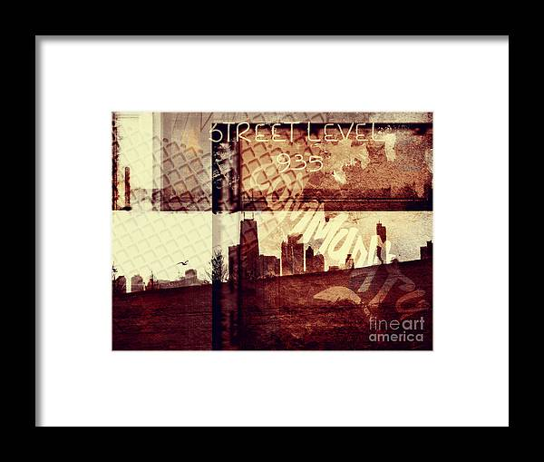 Chicago Framed Print featuring the photograph You Held My Hand Softly Through The Humid Summer Streets by Dana DiPasquale